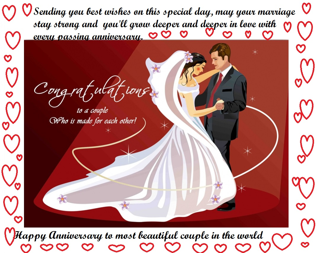 Marriage Anniversary Greeting Cards Wishes