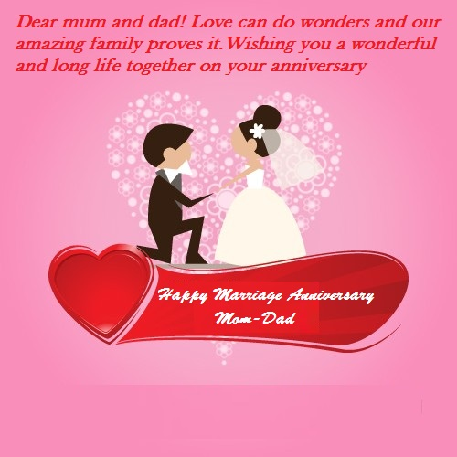 Happy marriage anniversary wishes for mom dad best wishes happy marriage anniversary wishes for dad mom m4hsunfo