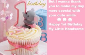 First Birthday Cute Cake Images For Baby Boy (1)