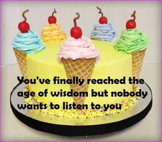 Funny Birthday Cake Quotes For Friends