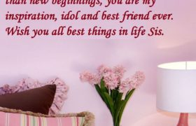 Birthday Quotes Wishes For My Sister
