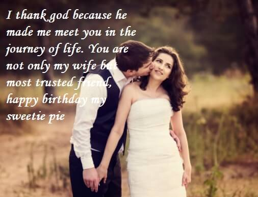 Cute Birthday Cake Wishes Quotes For Wife