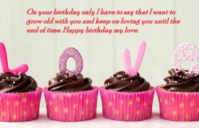 Cute Birthday Love Quotes