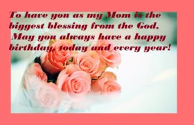 Cute Love Birthday Wishes For Mother