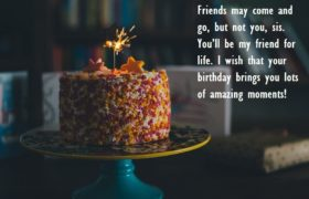 Birthday Cake Quotes Images For Sister