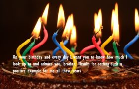 Birthday Cake Quotes Wishes For Brother