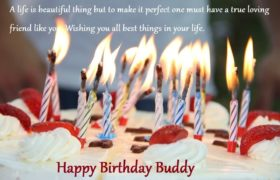 Birthday Cake Quotes Wishes For Friend