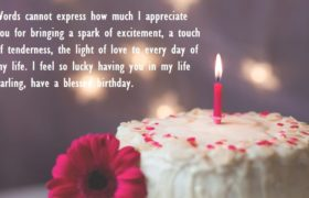 Birthday Cake Quotes Wishes For Love