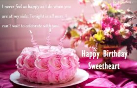 Birthday Cake Wishes Quotes For Her