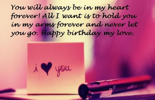 Birthday Love Messages Wishes Quotes