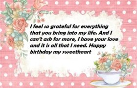 Birthday Special Wishes For Her