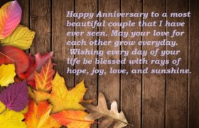 Marriage Anniversary Wishes Quotes For Brother