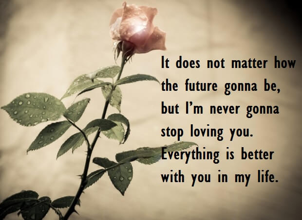Charming Romantic Love Quotes Wishes For Her