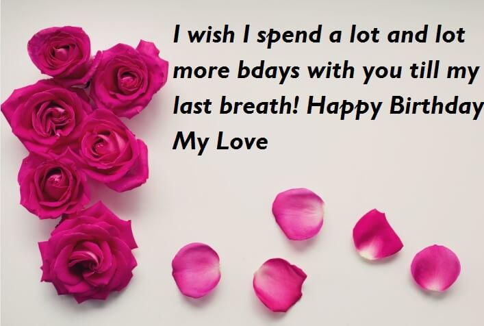 Birthday Wishes With Love Quotes