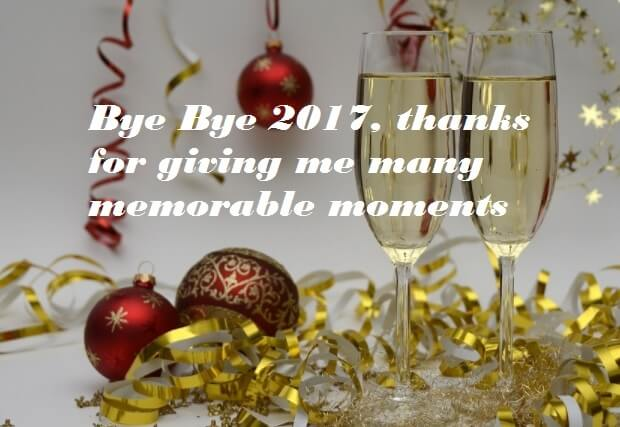 Bye Bye 2017 Wishes Quotes