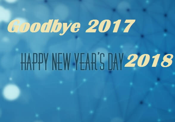 Goodbye 2017 Best Wishes Messages