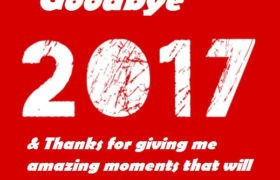 Goodbye 2017 Sayings Messages