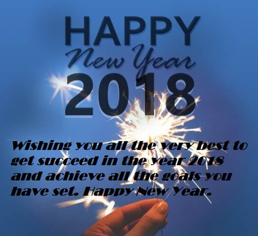 Happy New Year 2018 Ecards Wishes Messages