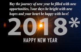 Happy New Year 2018 Facebook Greetings