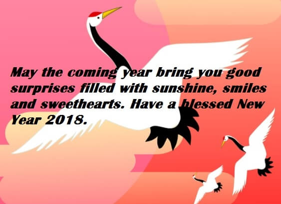 Happy New Year 2018 Saying Messages