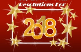 Happy New Year 2018 Resolutions Wishes Lines