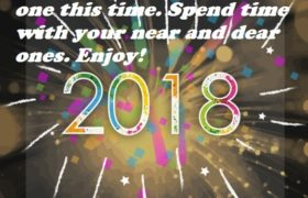 Happy New Year Text Messages 2018