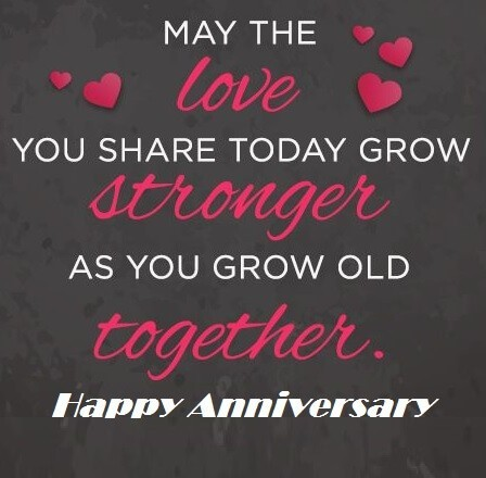 Marriage Anniversary Cards Messages
