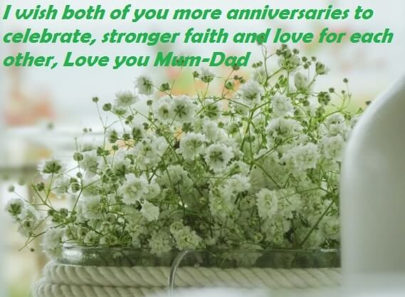 Marriage Anniversary Quotes For Dad Mom