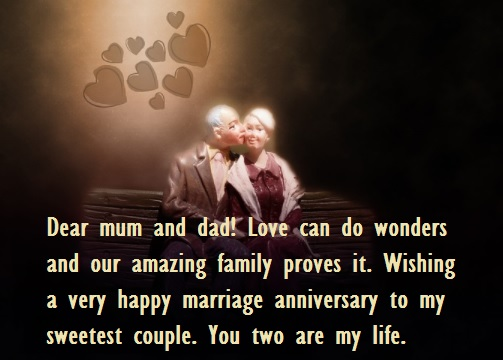 Marriage Anniversary Quotes Wishes For Parents