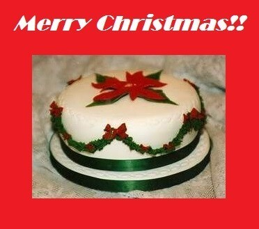 Merry Christmas Cake Messages Pics