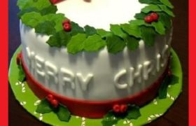 Merry Christmas Cake Wishes Sayings