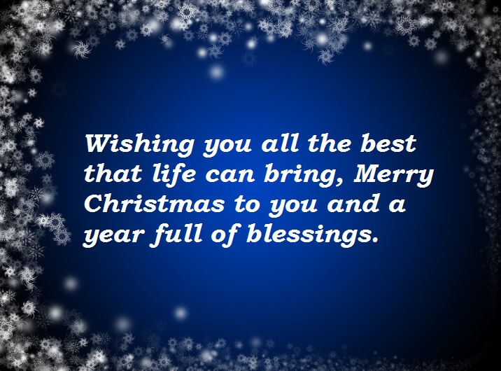 Merry Christmas Greeting Cards Quotes