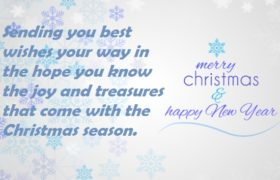 Merry Christmas Greeting Cards Sayings