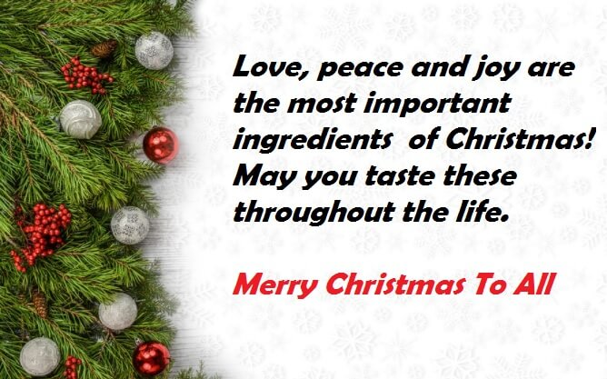 merry christmas 2017 greeting cards quotes best wishes