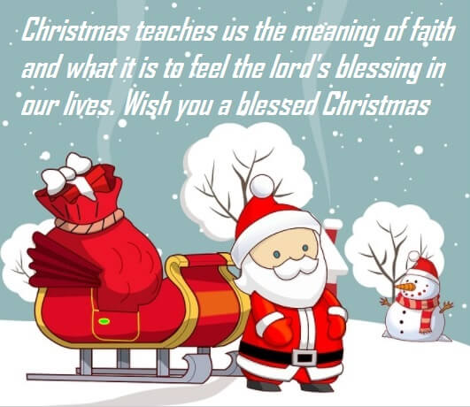 Merry Christmas Heartfelt Quotes Wishes