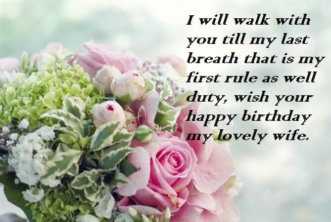Sensible Birthday Quotes For Wife