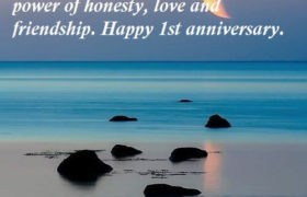 1st Marriage Anniversary Wishes Message