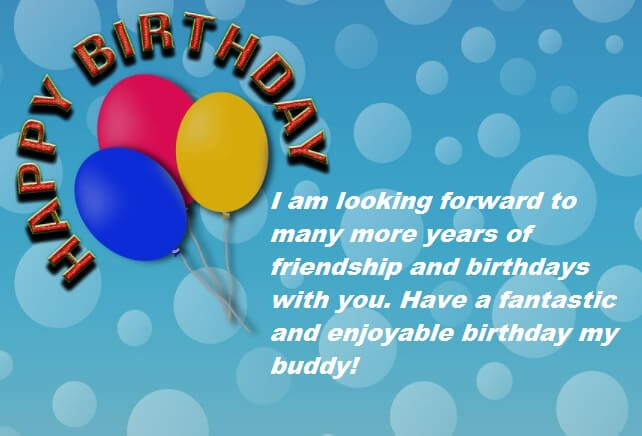 Birthday Wishes Message For Best Friend