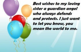 Birthday Wishes Message For Sis