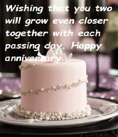 Happy Anniversary Cake Images Wishes