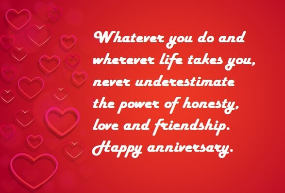 Image result for Happy Wedding Anniversary Emotional Quote