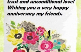 Happy Anniversary Wishes and Messages to Friend
