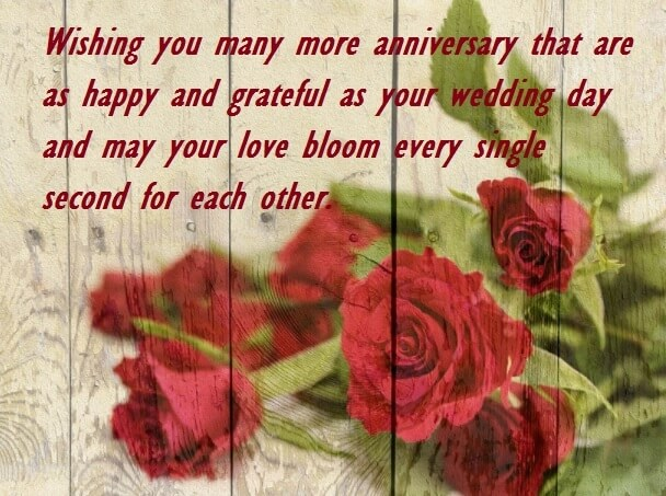 Marriage anniversary wishes message in english best wishes