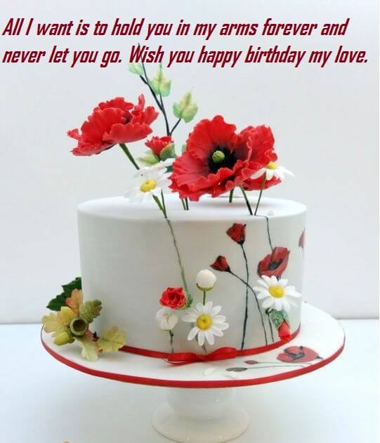 Birthday cake images wishes messages for love best wishes happy birthday cake message for love publicscrutiny Image collections
