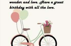 Happy Birthday Wishes Sayings Message