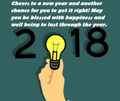 Happy New Year 2018 Heartfelt Wishes