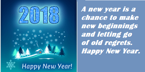 Happy New Year Ecards Sayings