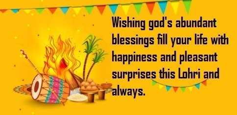 Lohri Wishes Greeting Cards