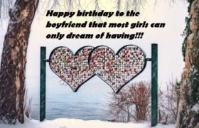 Romantic Birthday Wishes For Him