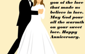 Wedding Anniversary Quotes Messages